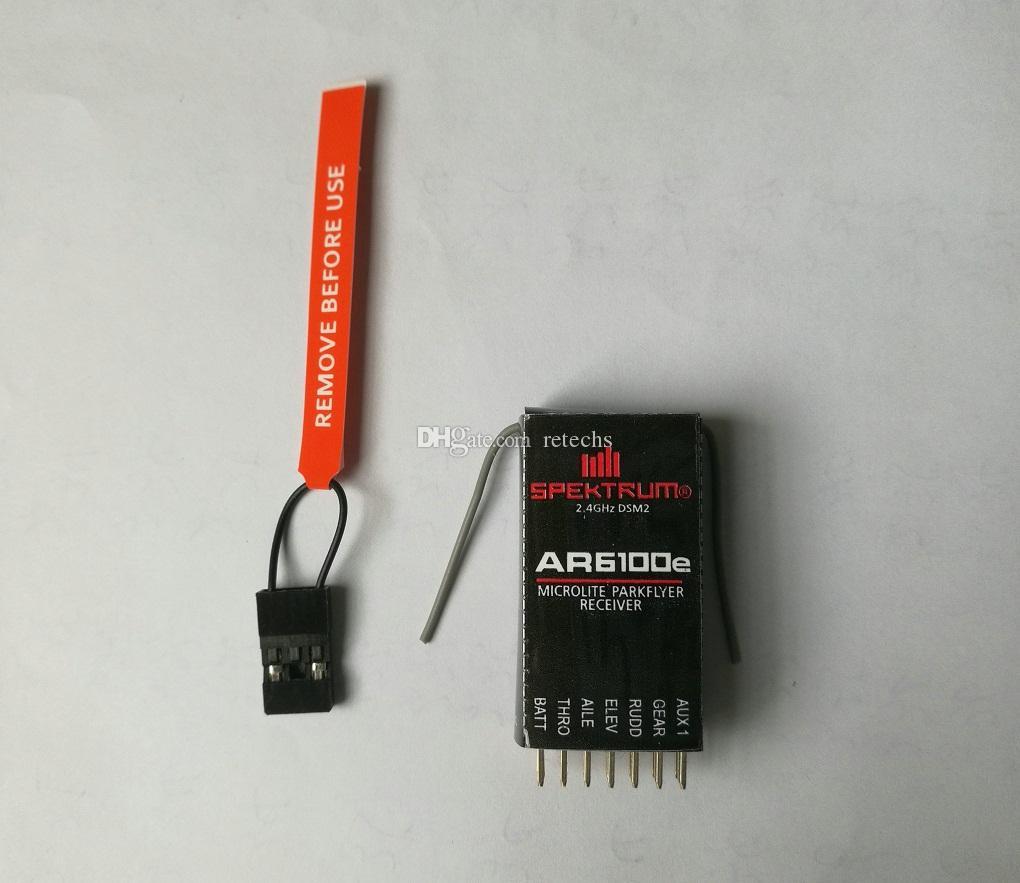 AR6100E специальное предложение SPEKTRUM DSM2 мини приемник расширение 400 метров товары для простой пластиковый пакет DHL Бесплатная доставка