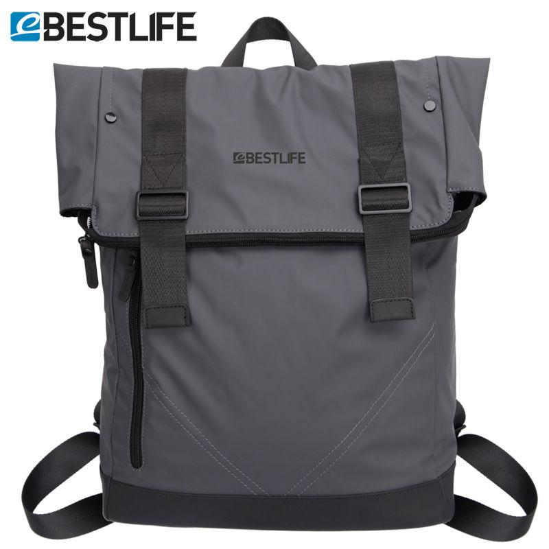 Wholesale Bestlife Fashion Cool Backpack Soft Pu Leather Male ...