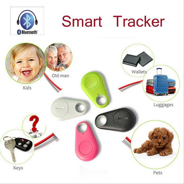 Mini Bluetooth Rastreador GPS Para Coche Llave Inteligente Perdida Buscador Inteligente Itag Anti Perdió el Rastreador de Alarma Con Android 200 Unids