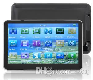 New Hot Universal 5 Inch Auto Car GPS Navigation Sat Nav Bluetooth AV-IN 128M/8GB bundle New Map WinCE 6.0 FM MP4