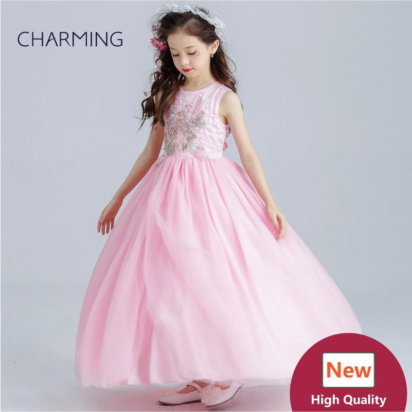 Pink Dresses Prom Dress Girls Pageant Dress High Quality Designer ...