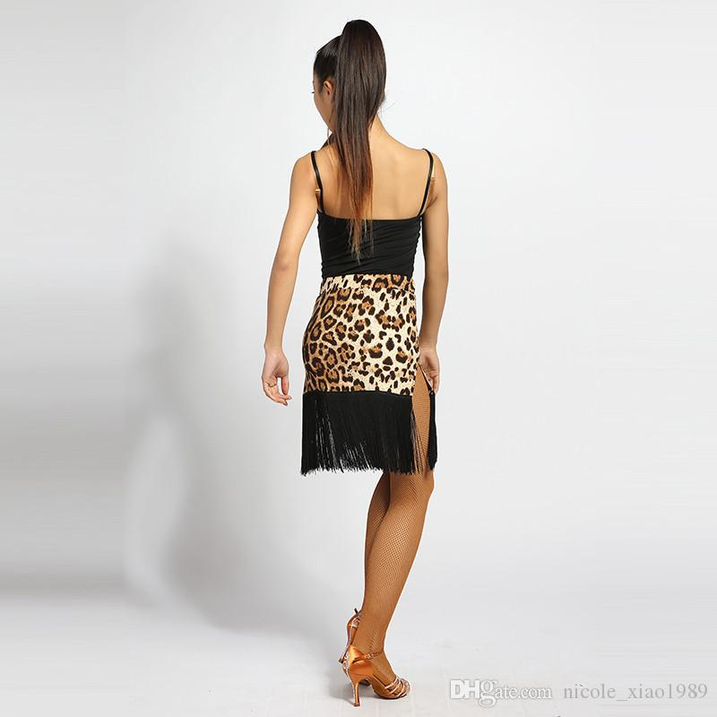 Black Adult/Girls Latin Dance Clothes Tango Salsa Ballroom Modern Practice Dance Tops Sexy Straps Leotard Body suit