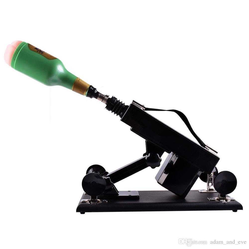 Machine automatique de sexe de meubles populaires de sexe avec 8 genres attachement de gode et jouets sexuels de machine de robot d'amour de masturbateur