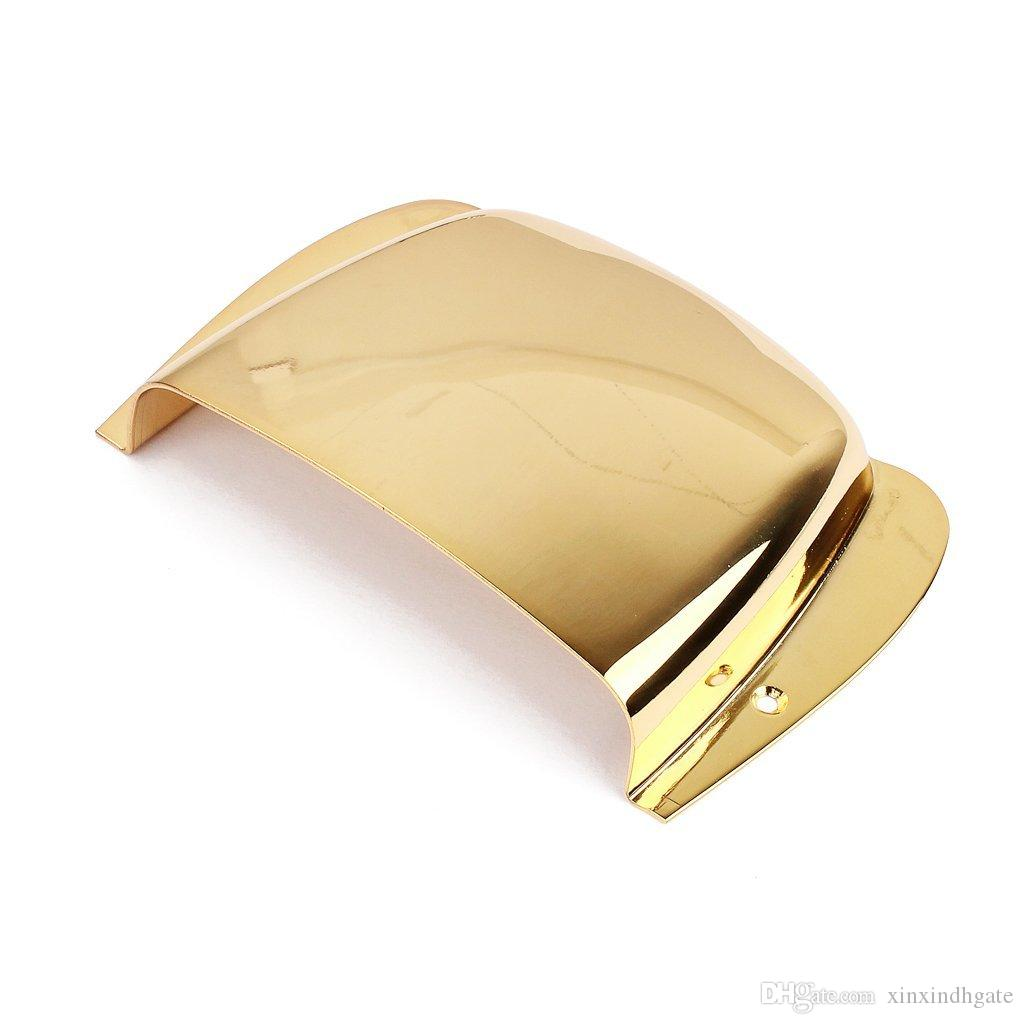 Gold/Silver/Black Plated Smooth Zinc Alloy PB Bass Guitar Bridge Cover Protector