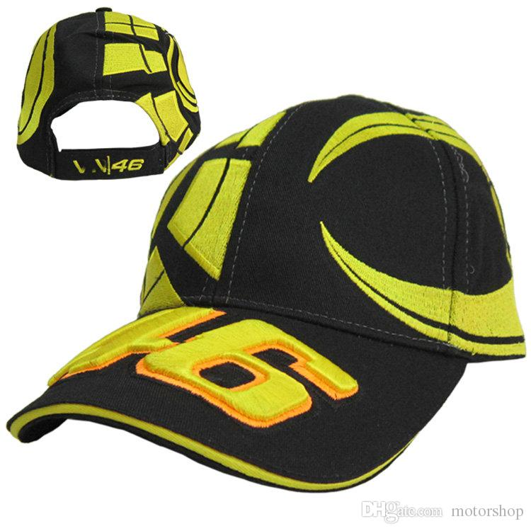 7e1500ffdd6 2017 Hot New Motor GP 46 Racing Cap Motocross Women Men Casual ...