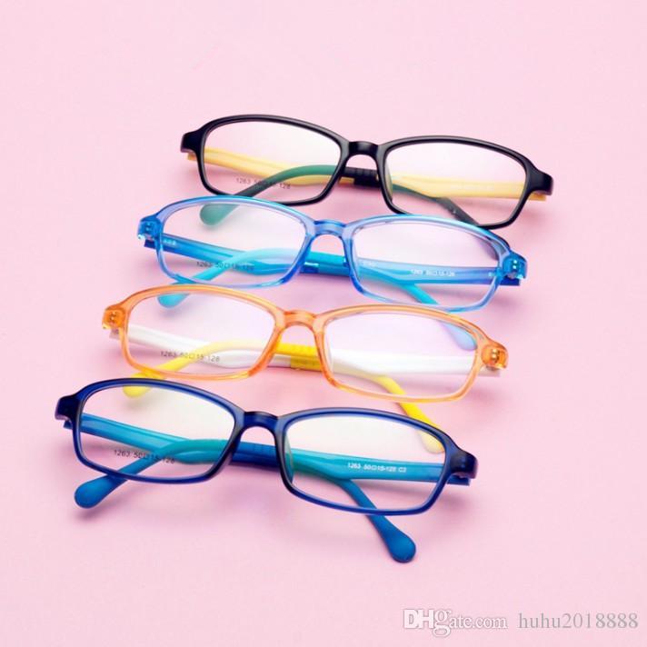 2018 Children Candy Colorful Glasses Frame Boys Girls Glasses Frames ...