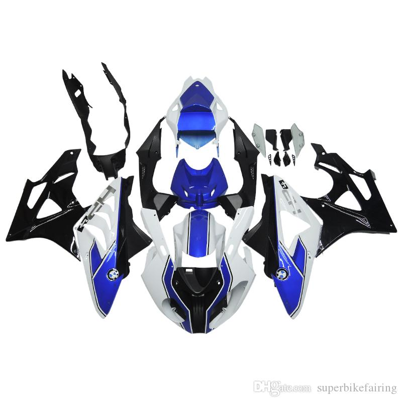 3 free gifts Complete Fairings For BMW S1000RR 1000RR 2011-2014 Injection molding Fairing beautiful style Blue Black
