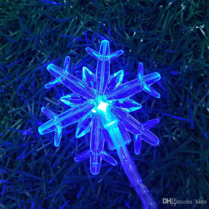 Snowflake Christmas Lights.Snowflake Christmas Lights Outdoor Led Christmas Lights Clamp Led Strips Lighting 2m 20led Battery Operated Xmas Lights Globe String Lights Patio