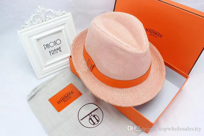 Fashion Lady Original Canvas Luxury Brand Duck Tongue Hat Outdoor Leisure  Sun Hat Baseball Hat With Box High End Packaging Wide Brim Fedora Summer Hat  From ... 74e7c870bf7