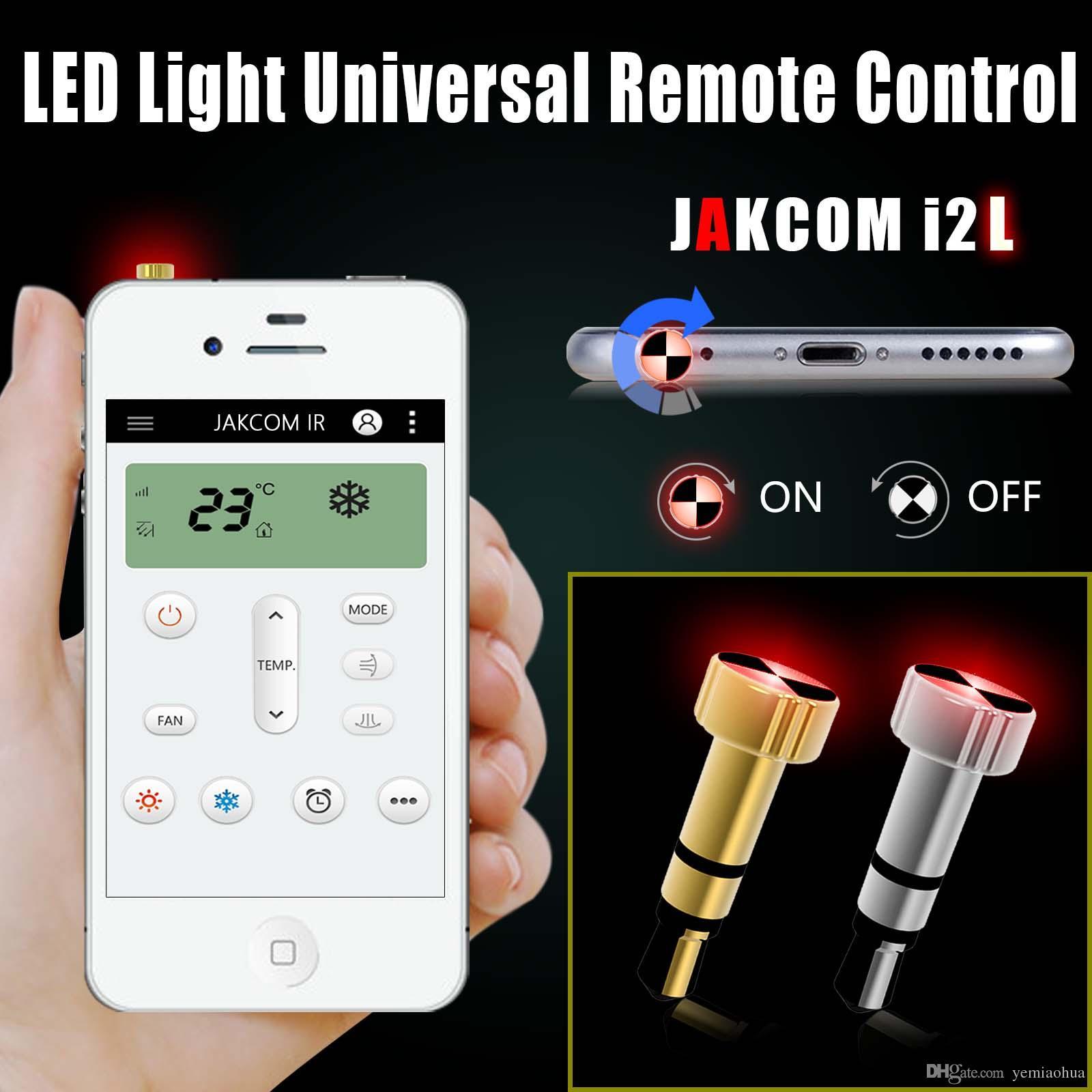 JAKCOM LED Infrarrojo Inteligente Universal Remoto Anti-Polvo Teléfono Celular Gadgets Xiaomi Enchufe de Teléfono Celular Encantos Adi Marca