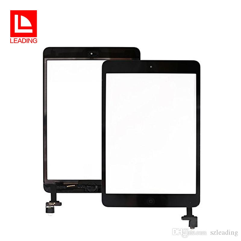 For iPad mini 1 2 mini 3 4 Touch Screen Glass Digitizer Assembly with IC Home Button Adhesive Glue Sticker Replacement Repair Parts