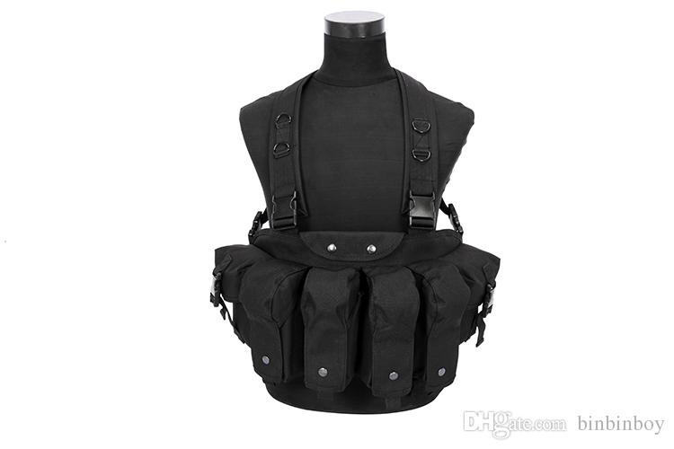 Best Outdoor MOLLE System Tactical Vest Paintball Combat Troops Hunting Vest Men For Protection AK Apron