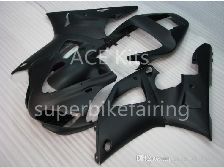 3Gifts YAMAHA YZF-R1 Için Yeni Sıcak satış bisiklet Fairings Kitleri 1998 1999 R1 98 99 YZF1000 Serin Siyah SX25