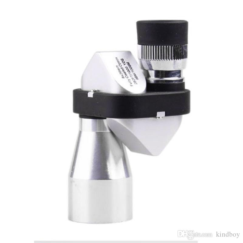 2017 Senderismo al aire libre Escalada Desierto Expedición Mini bolsillo 8x20 HD Esquina Telescopio Monocular óptico Ocular Nuevo 2507008