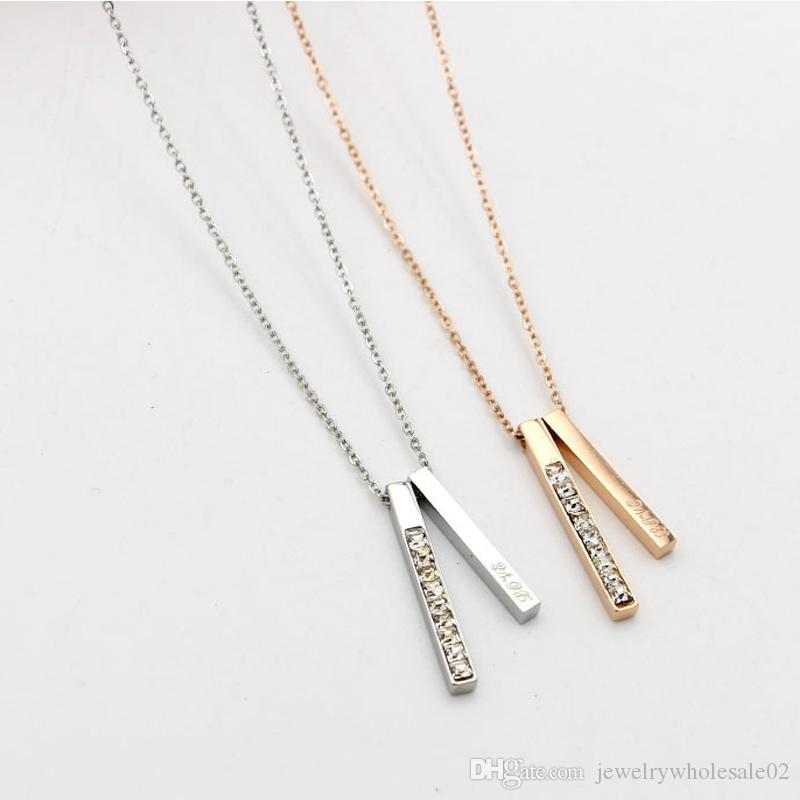 Hot sale! Women's Zircon Pendent Chain Choker Charm Necklace Jewelry Pendent Necklace High Quality Fashion Jewelry For Women And Men