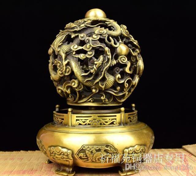 Reines Kupfer neun wenden sich an Himmel und Erde, wenn die Entwicklung von Kowloon Ding Wenchang Court bei der Übertragung von unsterblichen
