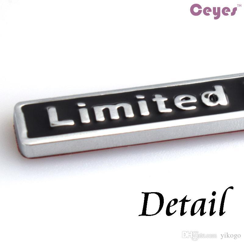 Car Styling 3D Metal Logo Adesivi Distintivo in edizione limitata bmw audi opel saab seat jeep lada nissan toyota Emblemi adesivi auto