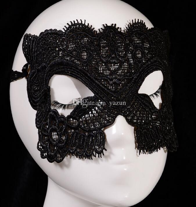 Hot selling models, handmade lace eye mask sexy Catwoman party, wholesale 5002 jewelry mask,theme party mask,,Half Mask For Women party Mask