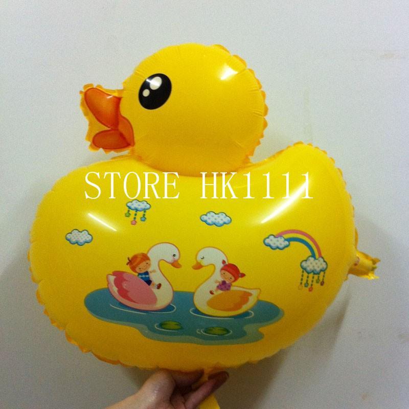 yellow duck balloons child toys balloon wedding birthday