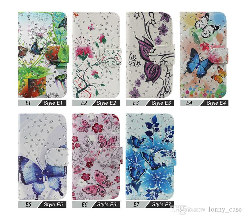 Wallet Case For ZTE Grand X4 Z956 For ZTE Grand X Max 2 Z988 Z963U Kirk Flip Leather bling pouch cover