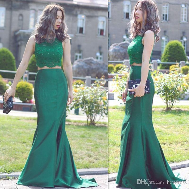 Imagenes de vestidos de fiesta verde