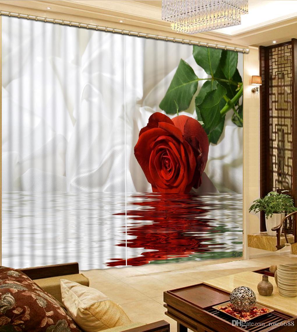 Großhandel Mode 3d Home Decor Schöne Fenster Vorhänge Für Wohnzimmer ...