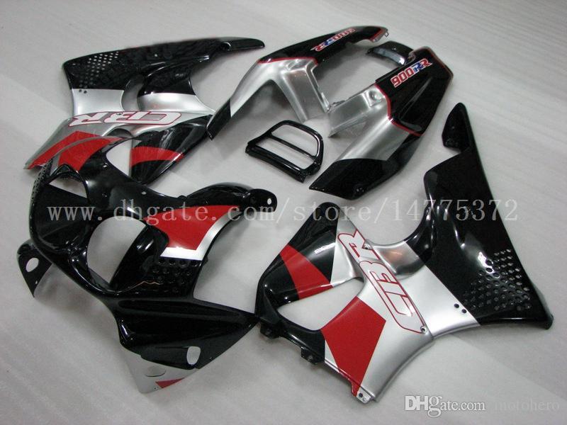 Carene rosse argento HONDA CBR900RR 893 1992-1993 CBR900 RR 1992 1993 CBR900RR 893 92 93 carene # ue934