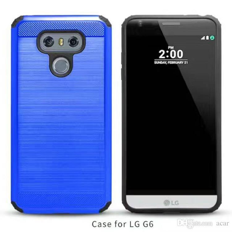 Slim Armor Estuche para Motorola Moto G5 G5 Plus Samsung Galaxy J1 J1 ACE J1 MINI J2 J3 J5 estuche híbrido TPU + PC Estuche rígido de silicona para PC