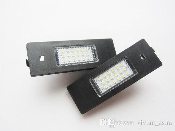 Sin errores 18SMD BLANCO para BMW E63 / E64 / E81 / E87 / E85 / E86 LED Luz de la matrícula Envío gratis