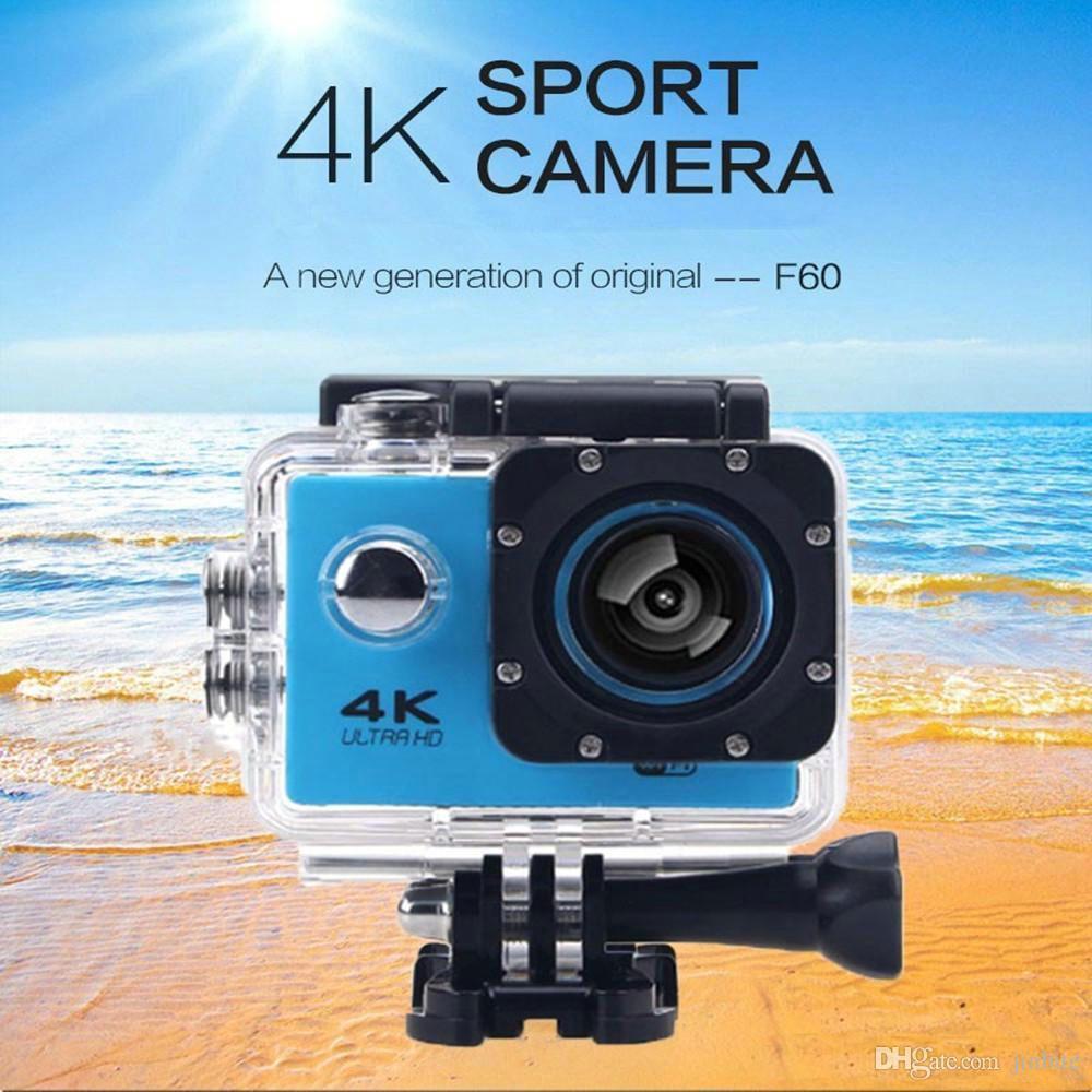 Action camera F60 Allwinner V3 4K/30fps 1080P/60fps WiFi 2 0