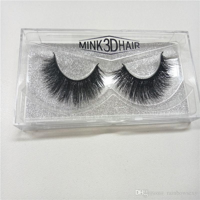 İyi Fiyat Yüksek Kalite 3D Doğal Vizon Koyun Çapraz Yanlış Sahte Kirpikler Vizon Saç El Yapımı Göz Lashes Seksi Hacmi