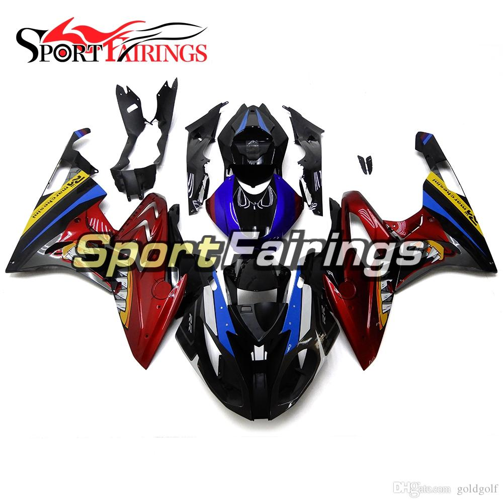 Injection Full Fairings For Bmw S1000rr 2015 2016 15 16 Blue Red