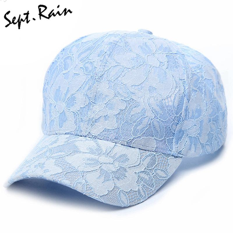 Wholesale- Sept.Rain New Ladies Snapback Lace Hats Adjustable Casual ... b902f58a1ec7