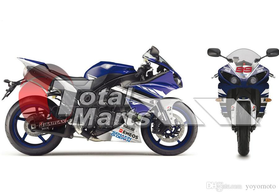 Fairing For Yamaha YZF R1 YZFR1 YZF-R1 2012 2013 2014 Injection ABS Black FD4217 Blue FD4223 Purple FD4224 Red FD4229 White FD4235