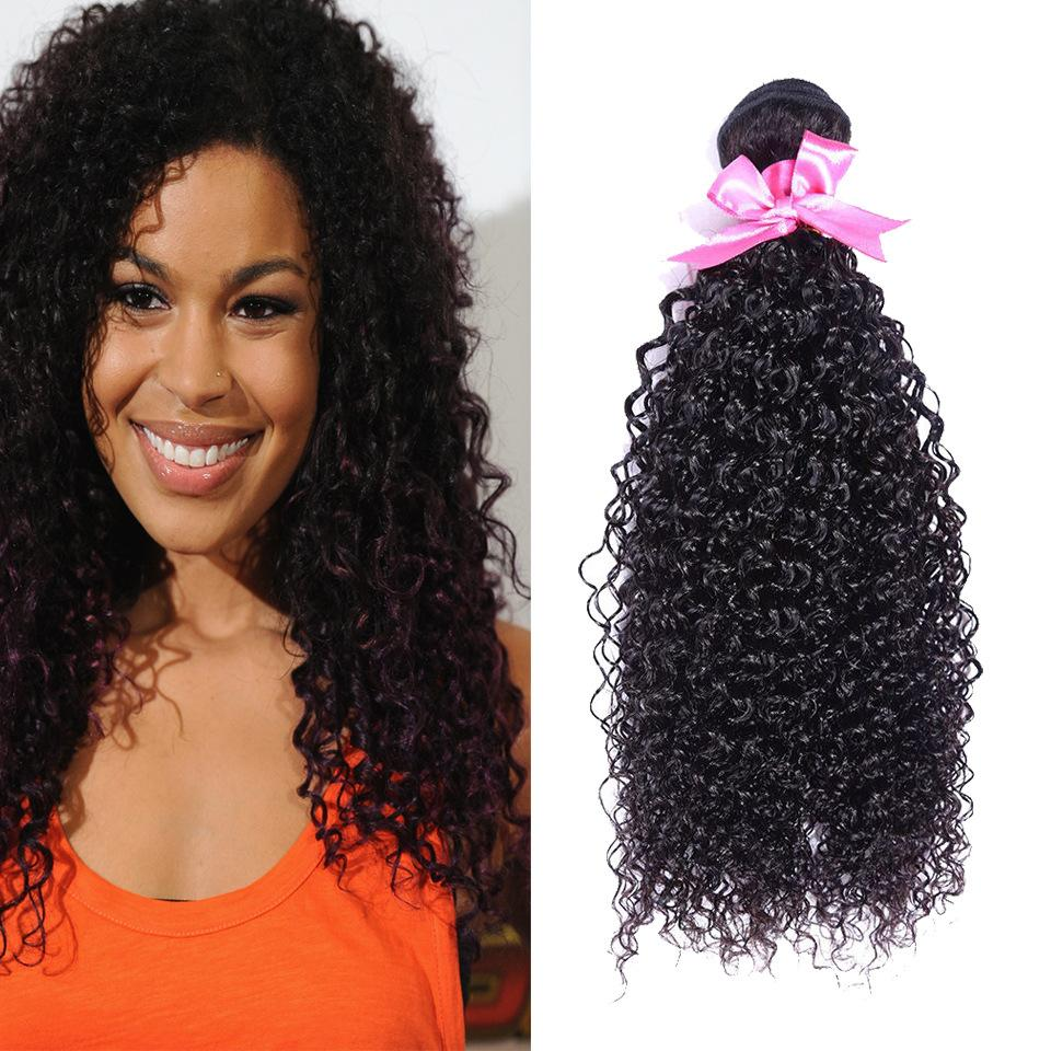 Indian Kinky Curly Hair Deals Indian Curly Hair4 Bundle Weave Hair Bundles Curly Weave 7a Human Hair Extensions