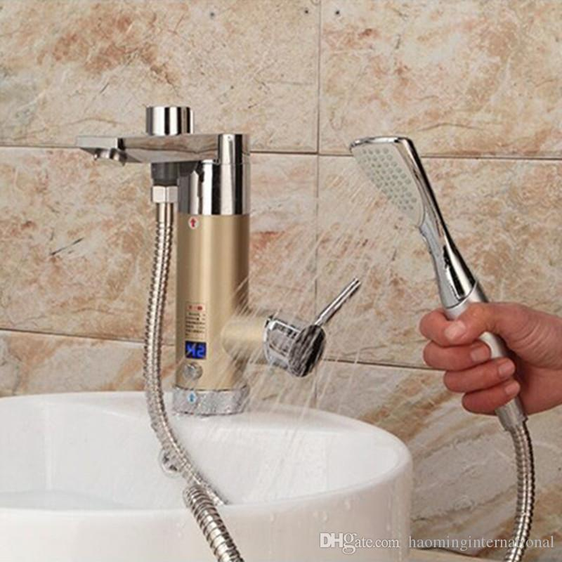 Online Cheap 3.5kw Instantaneous Water Heater Tap Electric Tankless ...