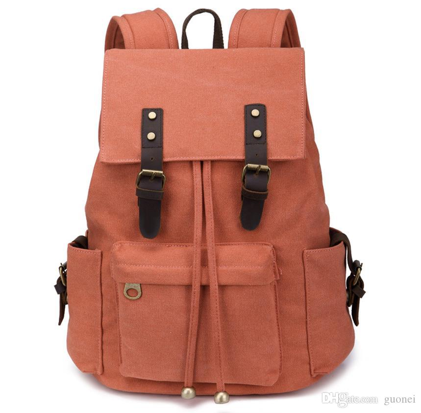 2017 new backpack. Canvas Backpack. Fashion student school bag. Travelling bag. Computer package Outdoor sports bag.