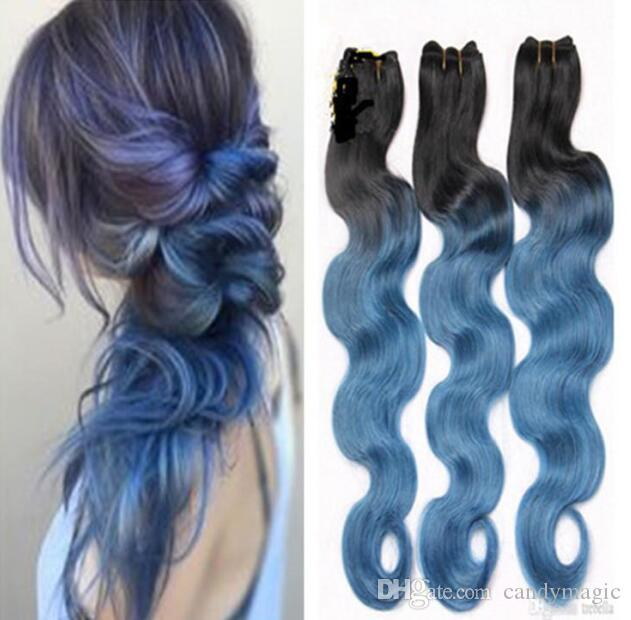 Unprocessed 8a grade 1bblue hair extensions body wave peruvian unprocessed 8a grade 1bblue hair extensions body wave peruvian black and denim blue ombre color human hair weave human hair weave wholesale human hair pmusecretfo Image collections