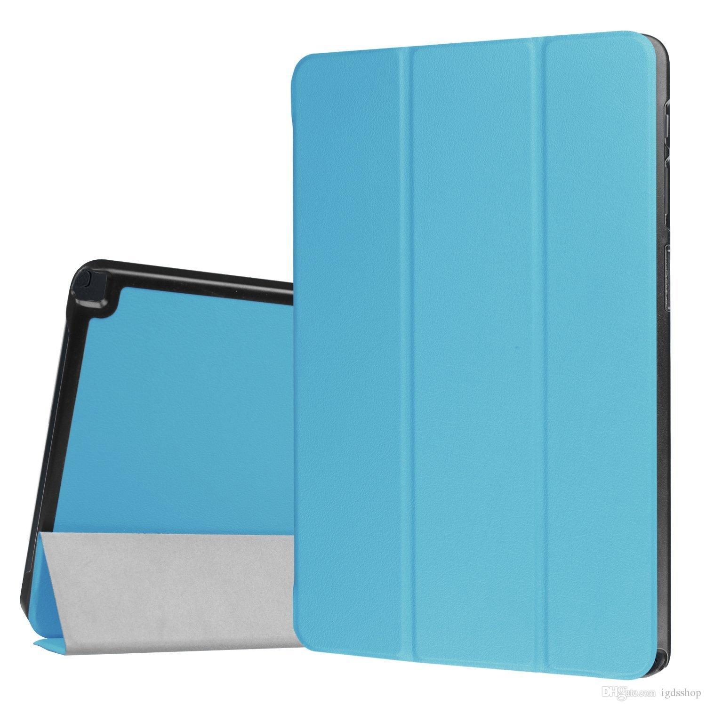"3 Fold Tri-Fold Flip PU Stand Leather Case Smart Cover For Samsung Galaxy Tab A 7"" 8"" 9.7 10.1 T250 T580 T350 T550 S S2 T700 T800 T715 T815"