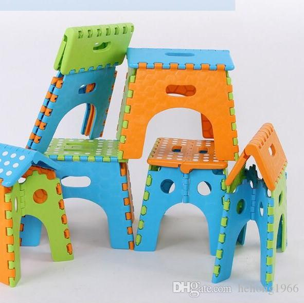Folding Step Stool Originality Children Mini Plastic Chair