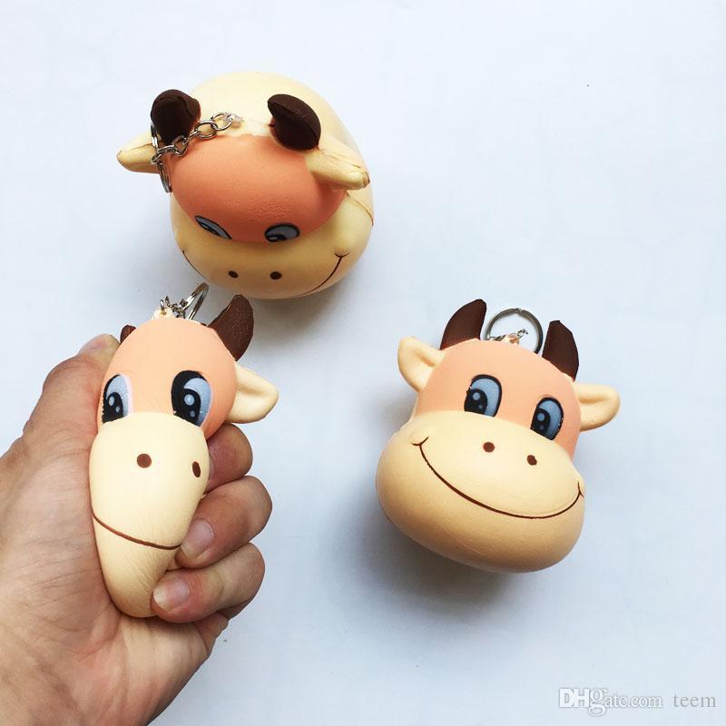 Мягкая игрушка лягушка торт животных курица Дельфин кукуруза squishies медленно растет 10 см 11 см 12 см 15 см мягкое сжатие милый подарок стресс детские игрушки E10