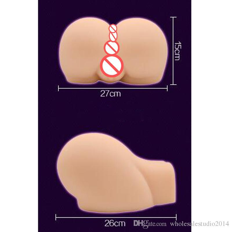 Nuovi prodotti sessuali da 5 kg 10kg, culo grande in silicone completo con anale della vagina realistico, sensibilità della pelle reale, migliori giocattoli Masturbatore maschile