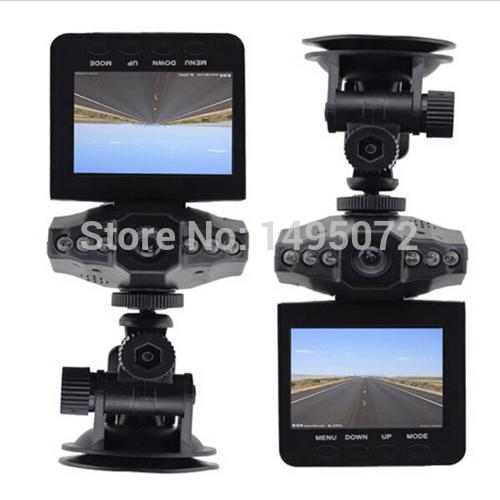 "Wholesale-2.5"" TFT LCD Screen DVR 6 IR LED Night Vision HD Mini Camcorders Video Recorder Car Camera Driving Recorder mini dvr cam"