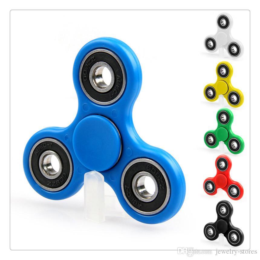 2017 Hot Selling Hand Toy Handspinner Tri Spinner Fid Torqbar