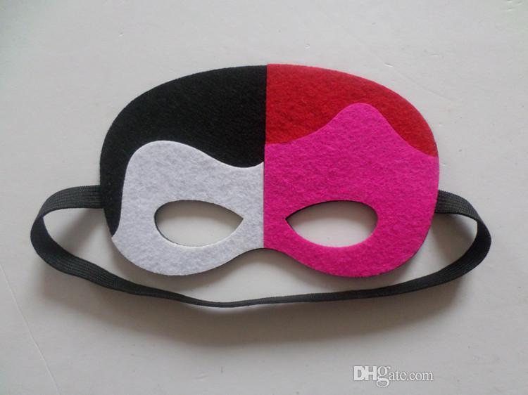 108 estilos New cartoon Superhero feltro kid máscaras de moda óculos de feltro brinquedo do dia das bruxas do natal cosplay festa de casamento crianças máscaras capitão