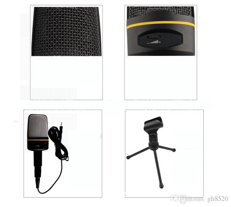 المبيعات الساخنة ميكروفون الكمبيوتر السلكية شبكة ميكروفون مع حامل حامل ميكروفون اللون الأسود نموذج SF920 2 متر خط