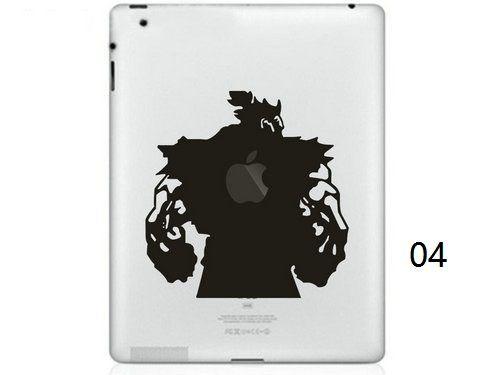 Hot Originality Cartoon-3 series Vinyl Tablet PC Decal Black Sticker Skin for Apple iPad 1 /2 / 3 / 4 / Mini Laptop Skins Sticker