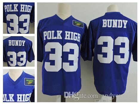 Men S Adult Married With Children Al Bundy Polk High  33 Al Bundy Blue  Football Jersey Costume UK 2019 From Andyexpress a36a4230c235