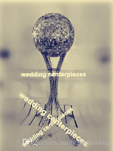Zihinsel top alt stand koridor standları düğün / sütunlar standları çiçek / zihin düğün için duruyor