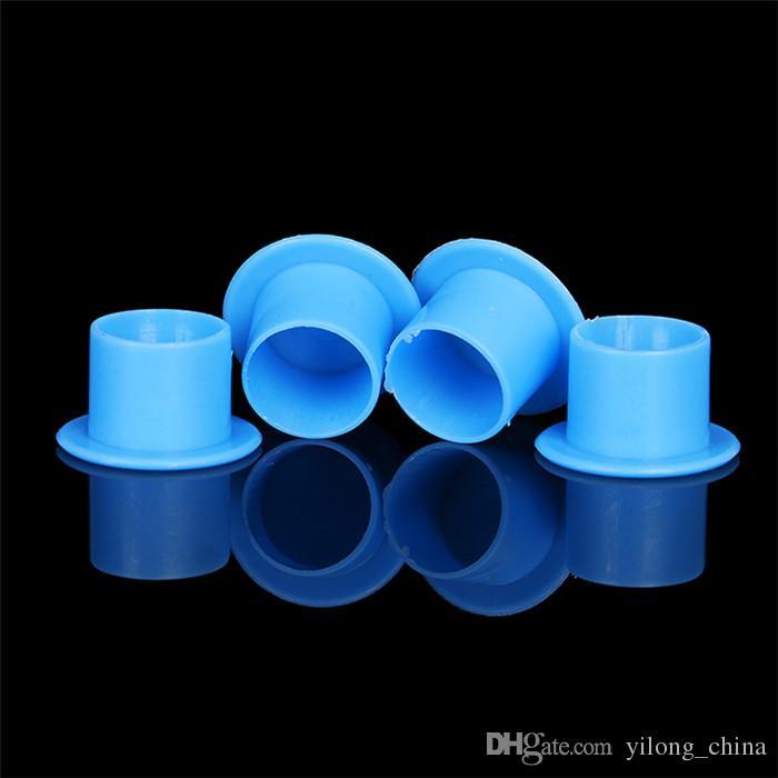 YILONG татуировки чернила чашки крышки 6.7*9.2 мм 1000 шт. пигмент поставки пластиковых самостоятельной стоя чернил чашки Бесплатная доставка